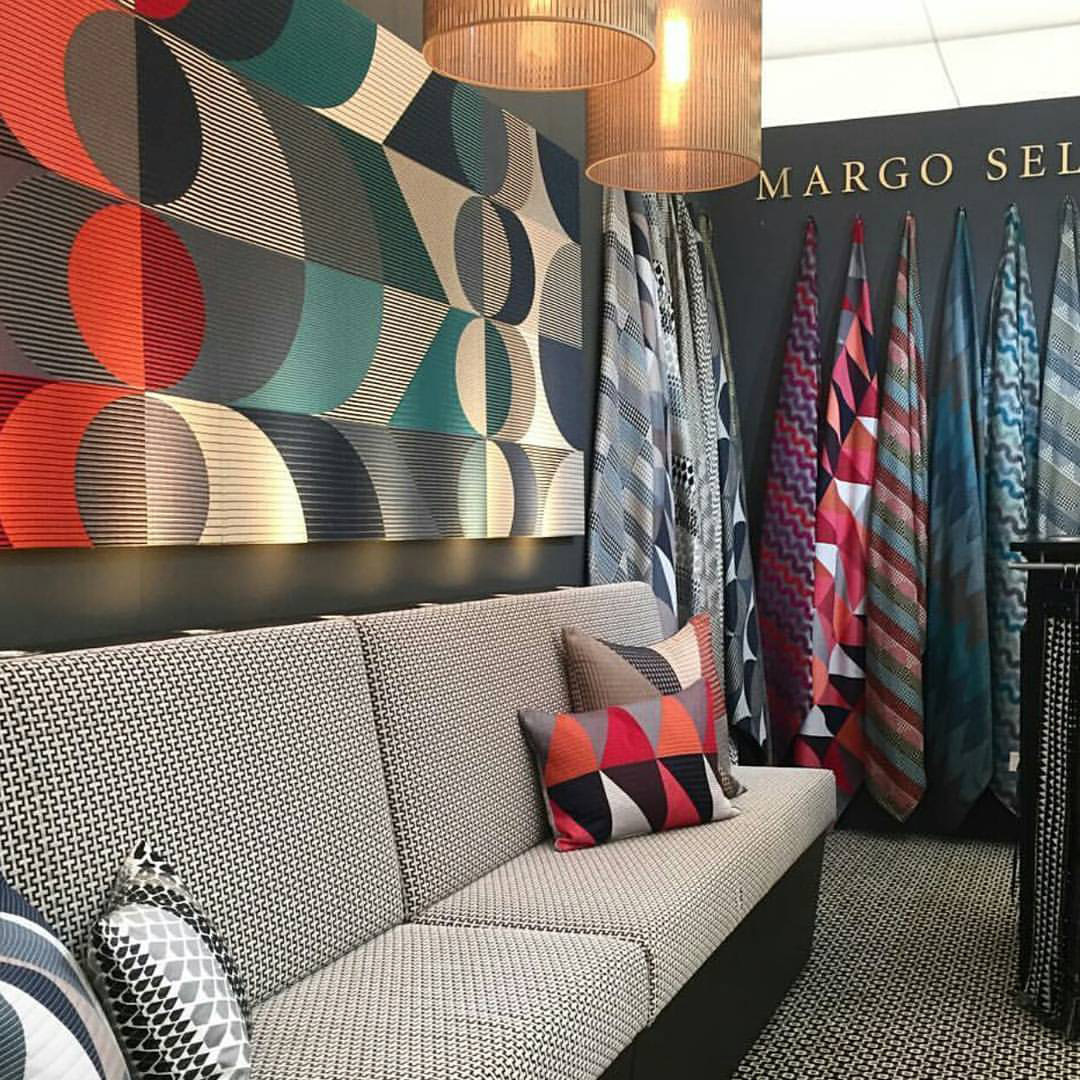 Margo Selby Banquette Stand for Decorex 2016