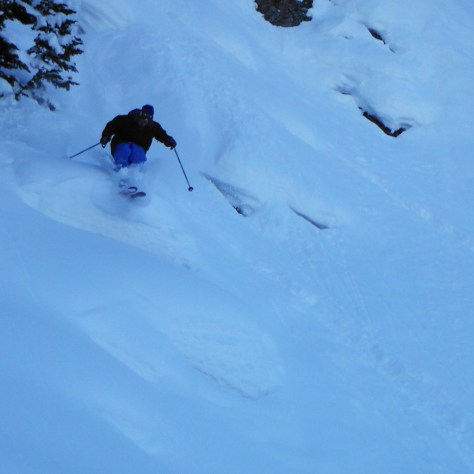 Sam Barco with that pillow pow