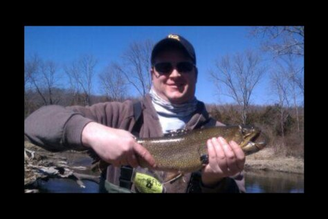 Not bad for the first Trout of the day.