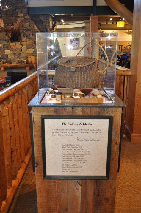 L.L. Bean Fly Fishing Artifacts