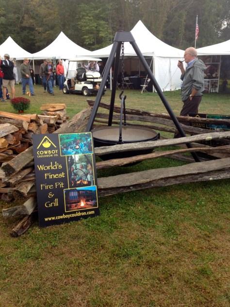The Cowboy Cauldron, ultimate fire pit.