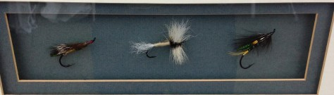 Salmon Fly Display