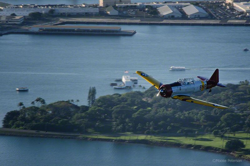 Flight over the Arizona Memorial