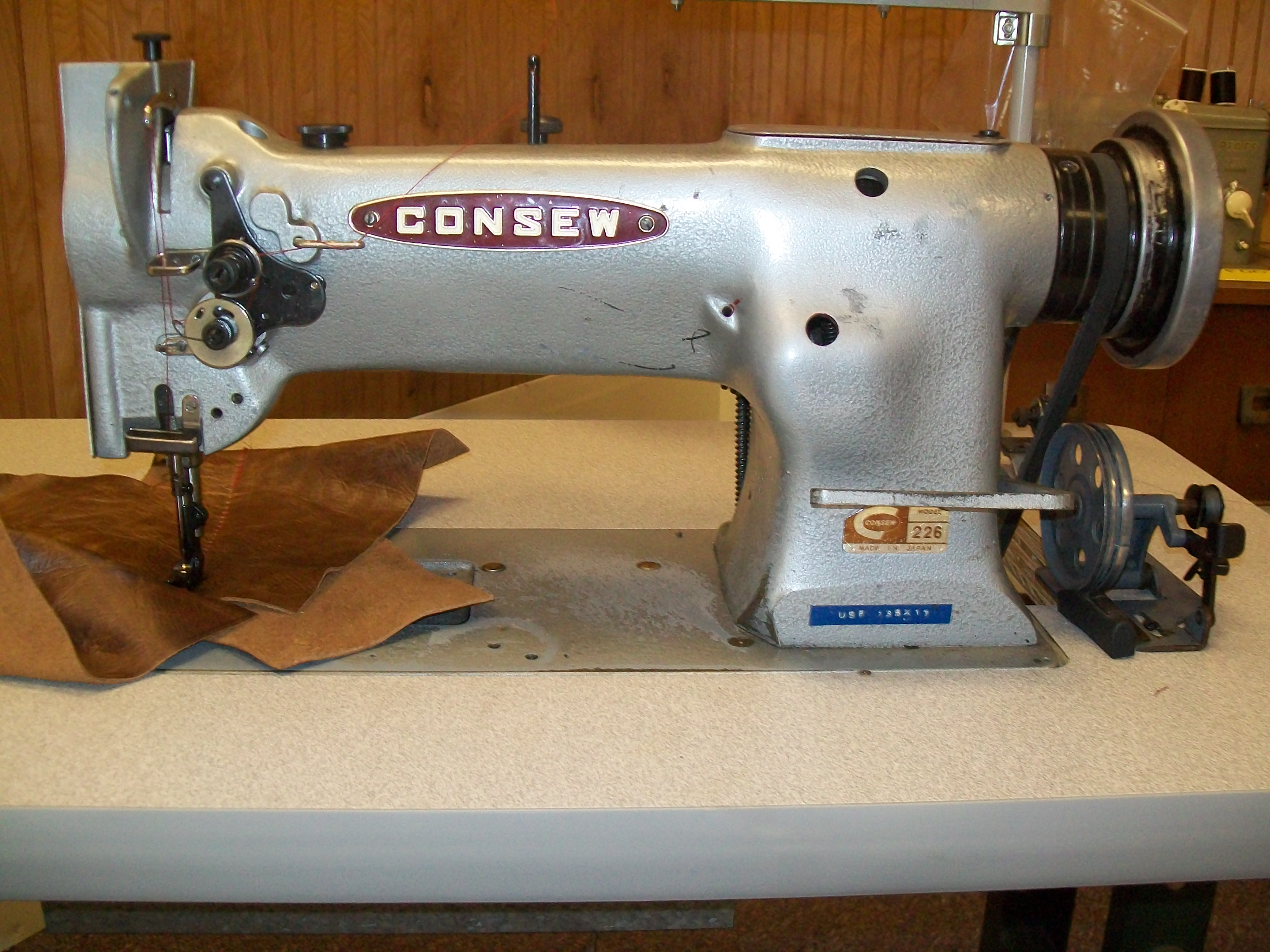 Consew 226 Walking Foot Sewing Machine With Video