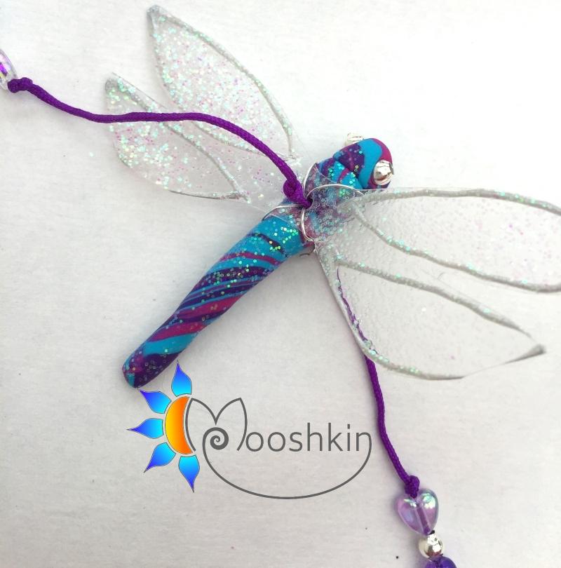 Small dragonfly dangler - string of 4 - Mooshkin