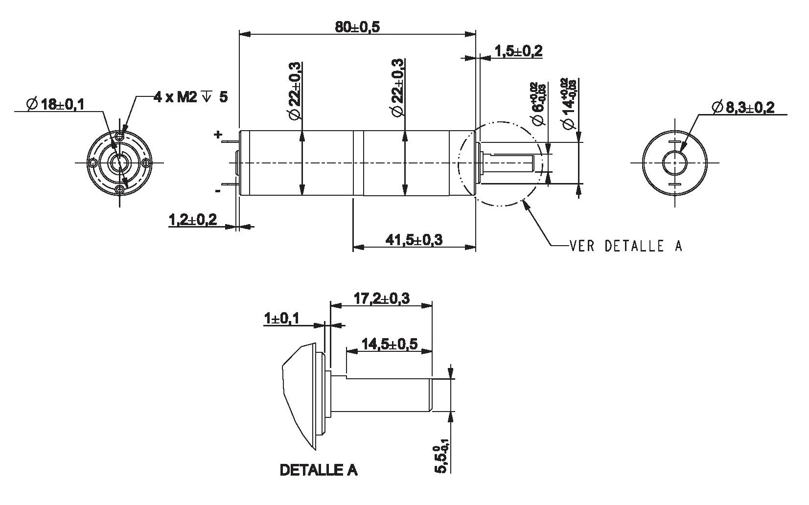 Gear Motor Dc 6v 38rpm Ref 6