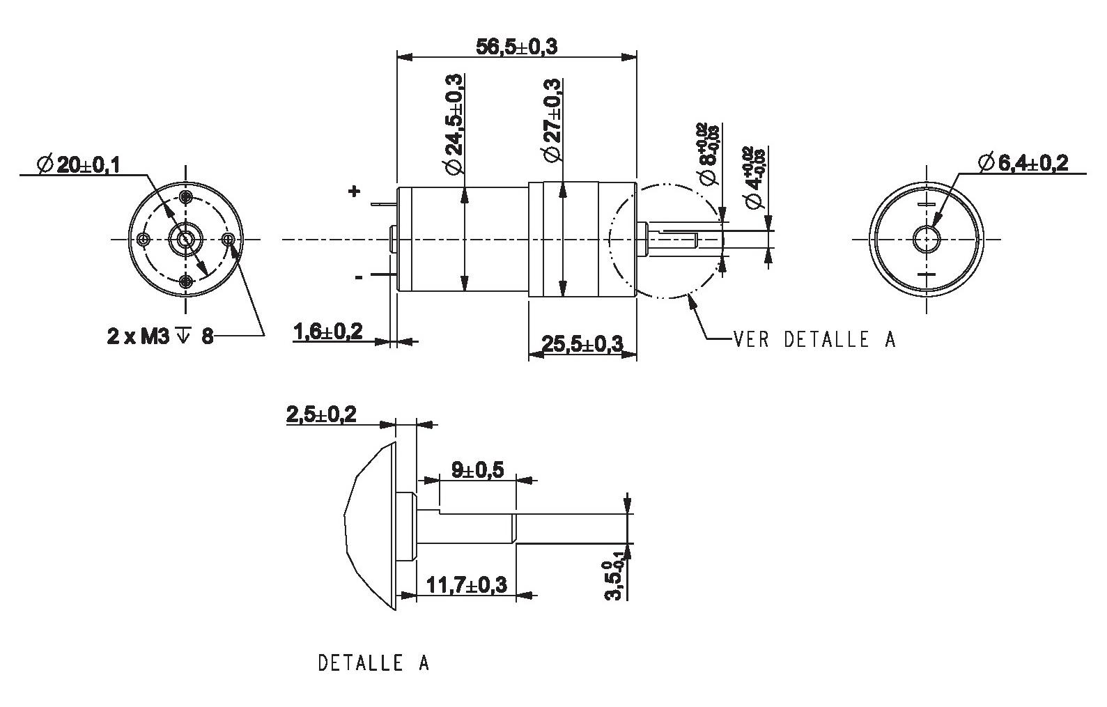Gear Motor Dc 12v 110rpm Ref 12