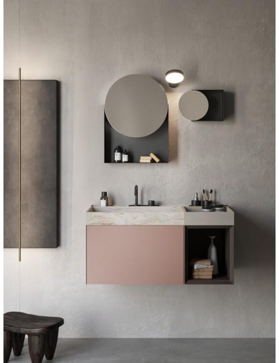 Meuble De Salle De Bain Design Compact Living 5 De Rexa