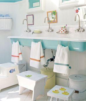 salle de bain pensee pour les enfants
