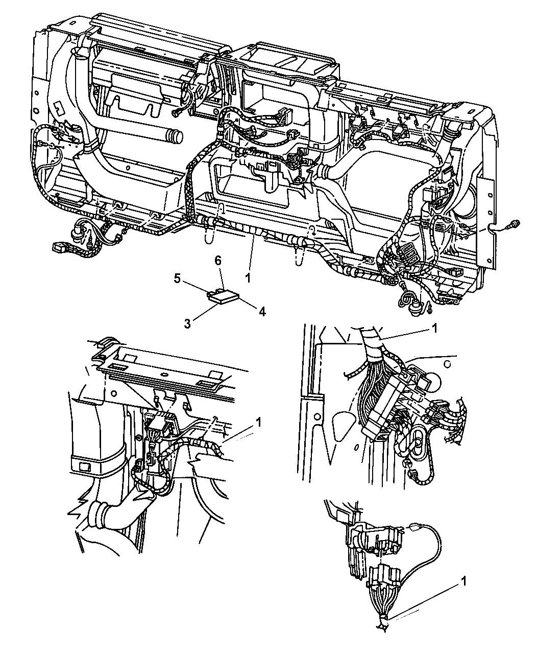 Jeep Wrangler Wiring Instrument Panel Amp Fuses