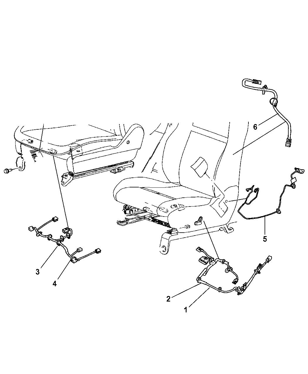 Dodge Grand Caravan Wiring