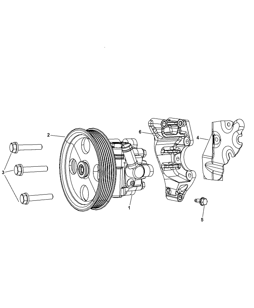 Dodge Grand Caravan Power Steering Pump