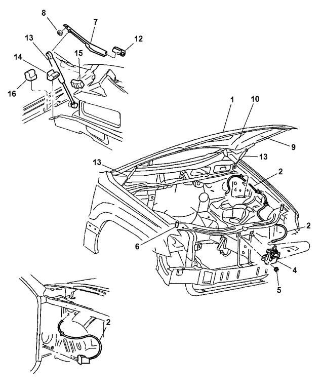 2000 Jeep Grand Cherokee Exhaust System Diagram
