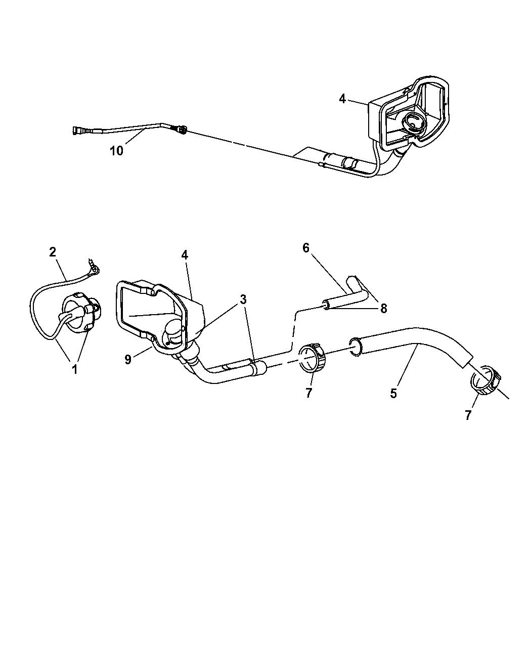 Dodge Ram Fuel Filler Tube