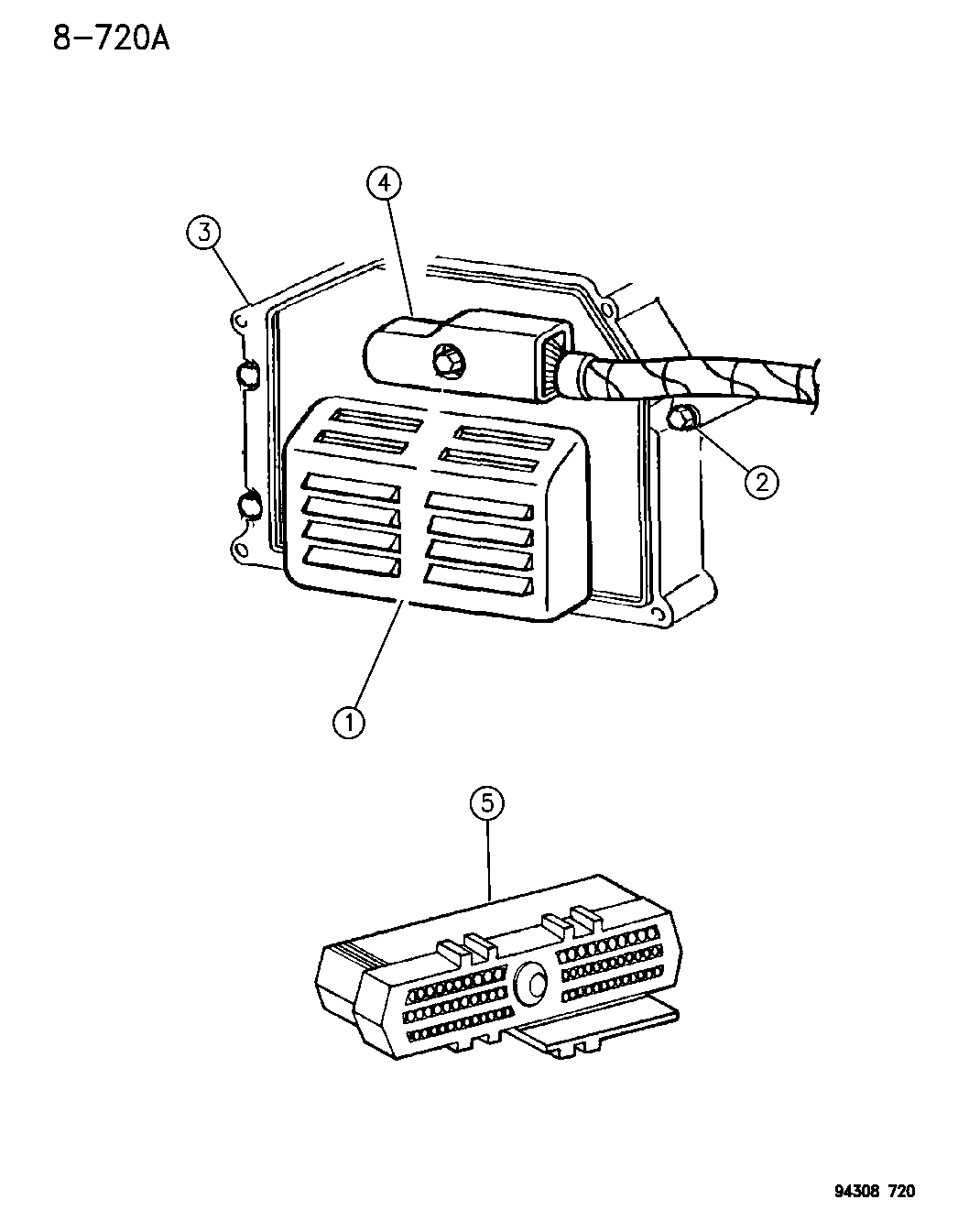Dodge Ram Single Board Engine Controller