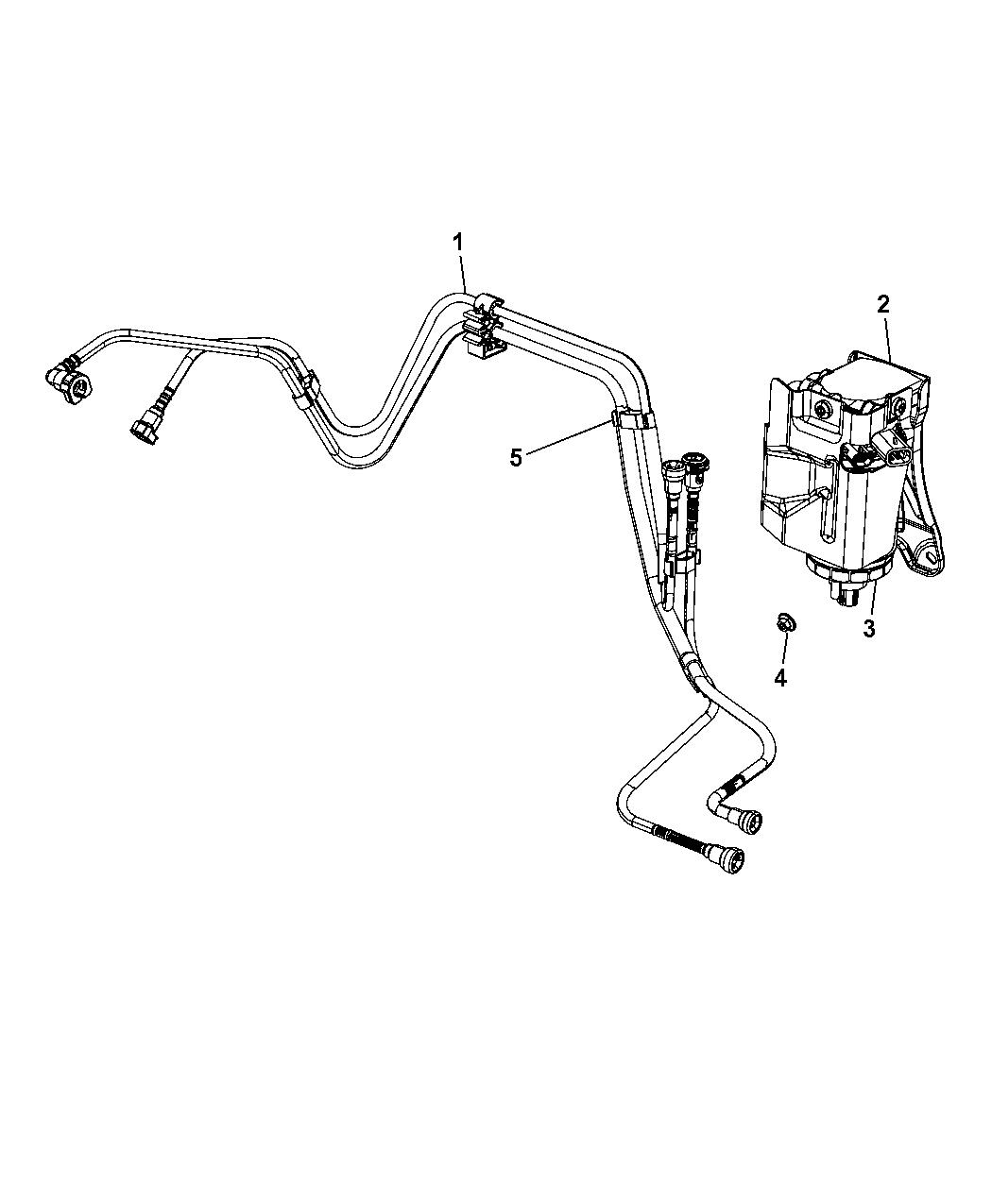 Dodge Journey Fuel Filter
