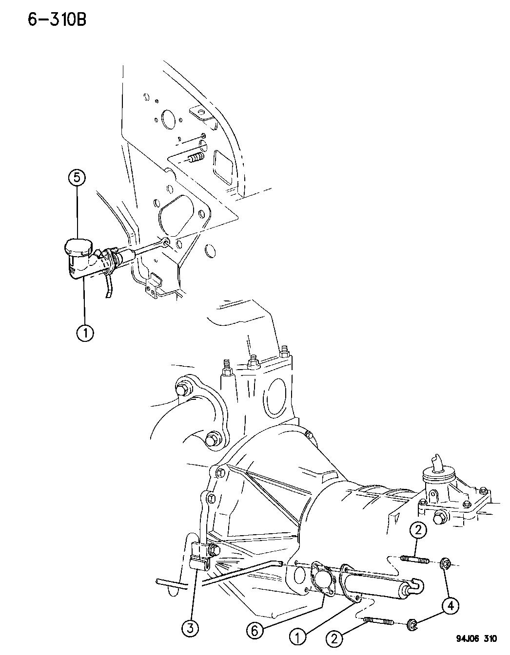 Jeep Wrangler Control Clutch