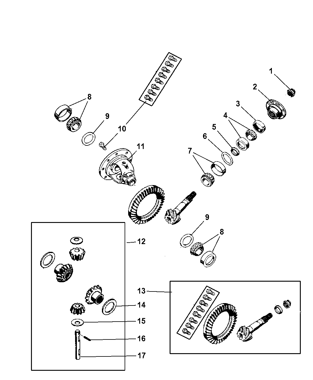 Dodge Ram Differential