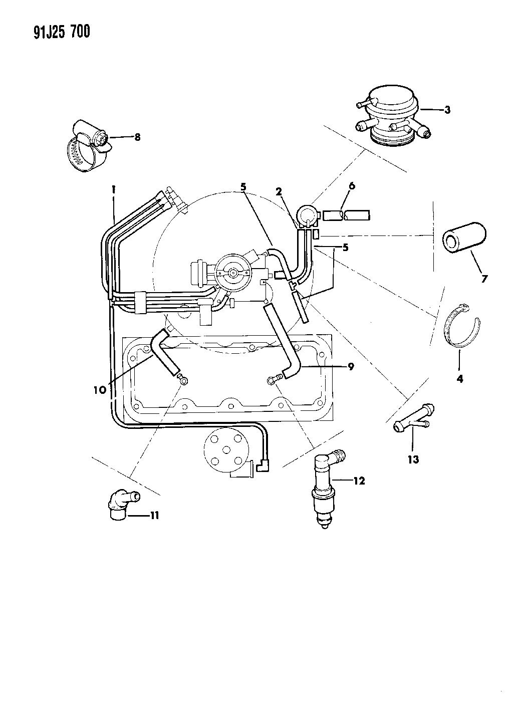 Jeep Cherokee Pcv System