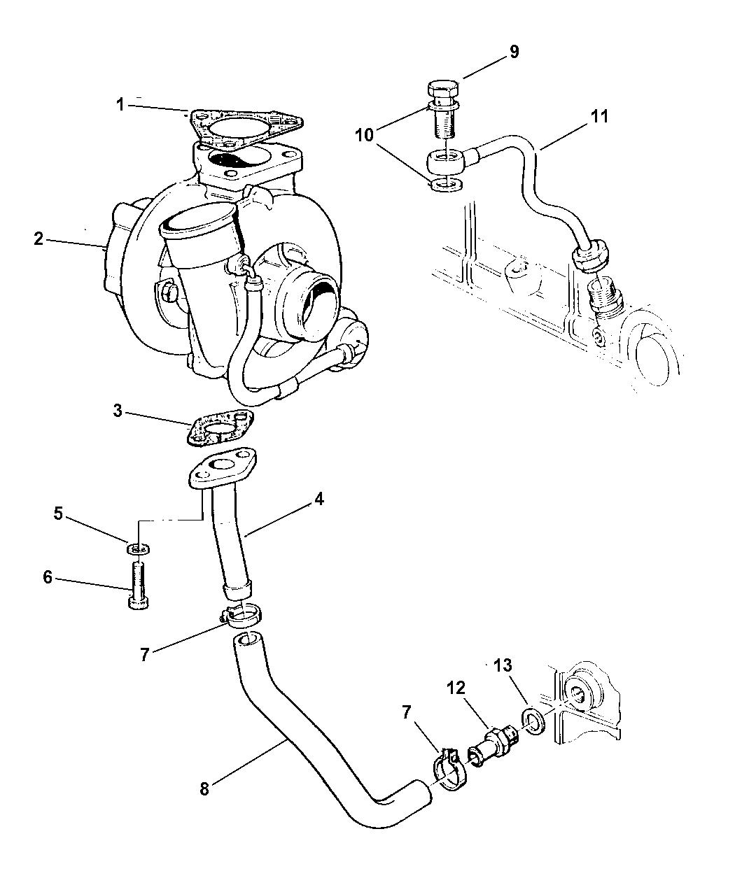 Jeep Cherokee Turbocharger