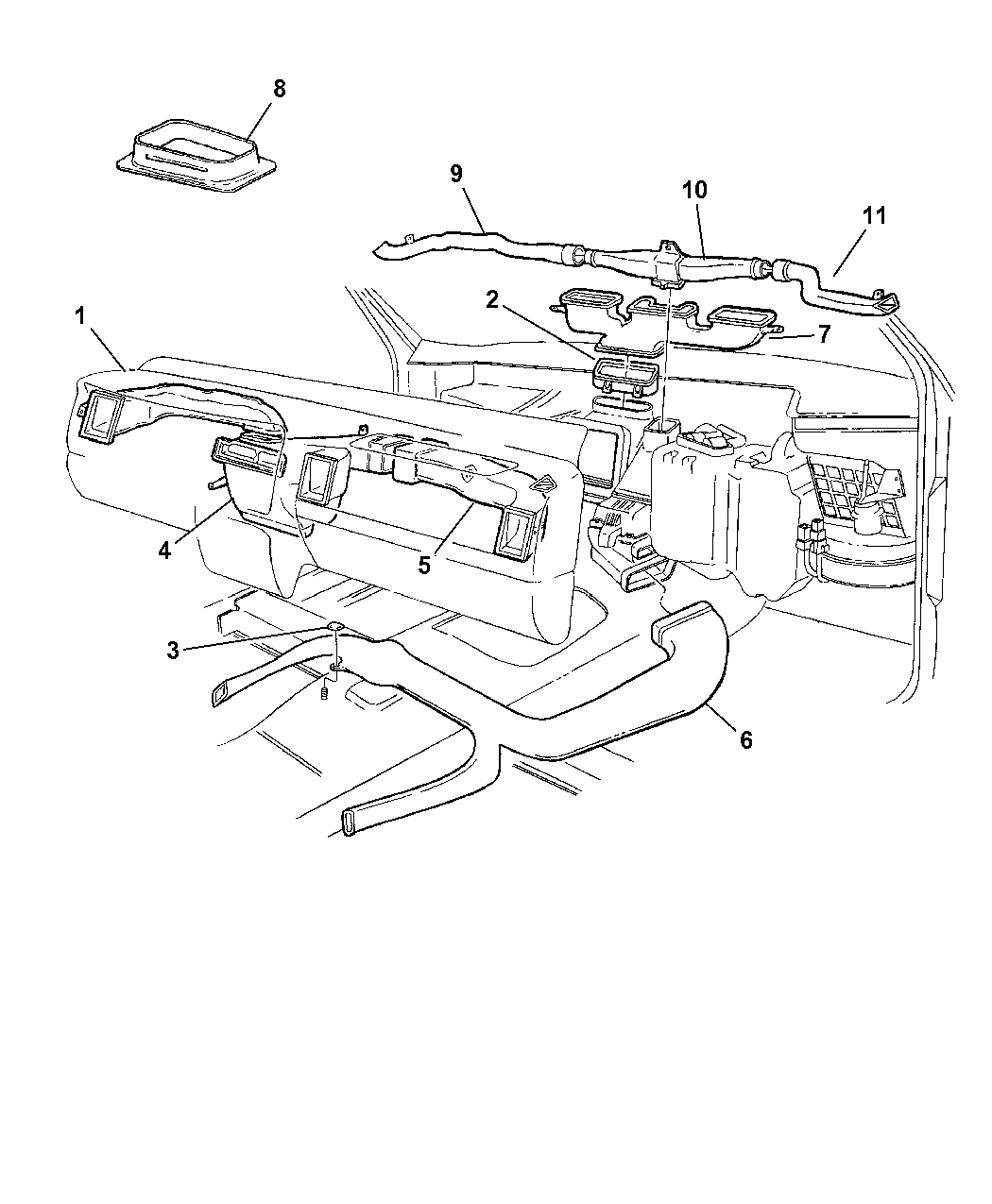 Jeep Grand Cherokee Air Ducts Amp Outlets