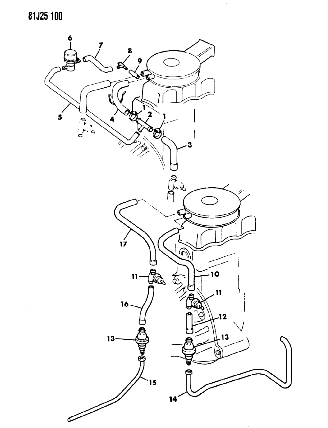 Jeep J10 Pulse Air System