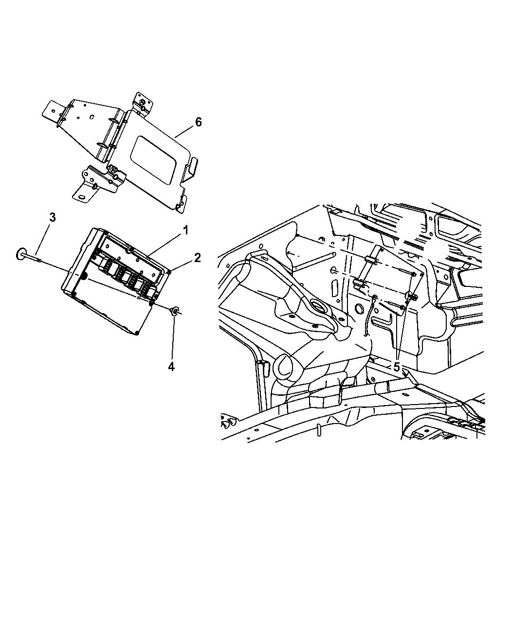 Jeep Grand Cherokee Powertrain Control Module
