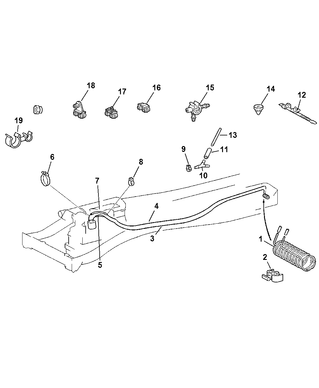 Dodge Sprinter Fuel Line