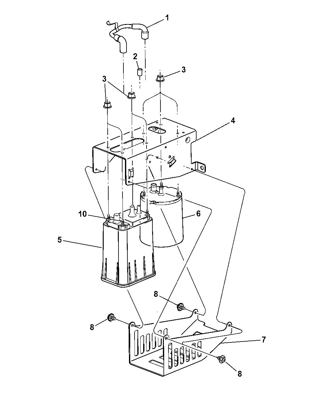 Dodge Ram Vacuum Canister