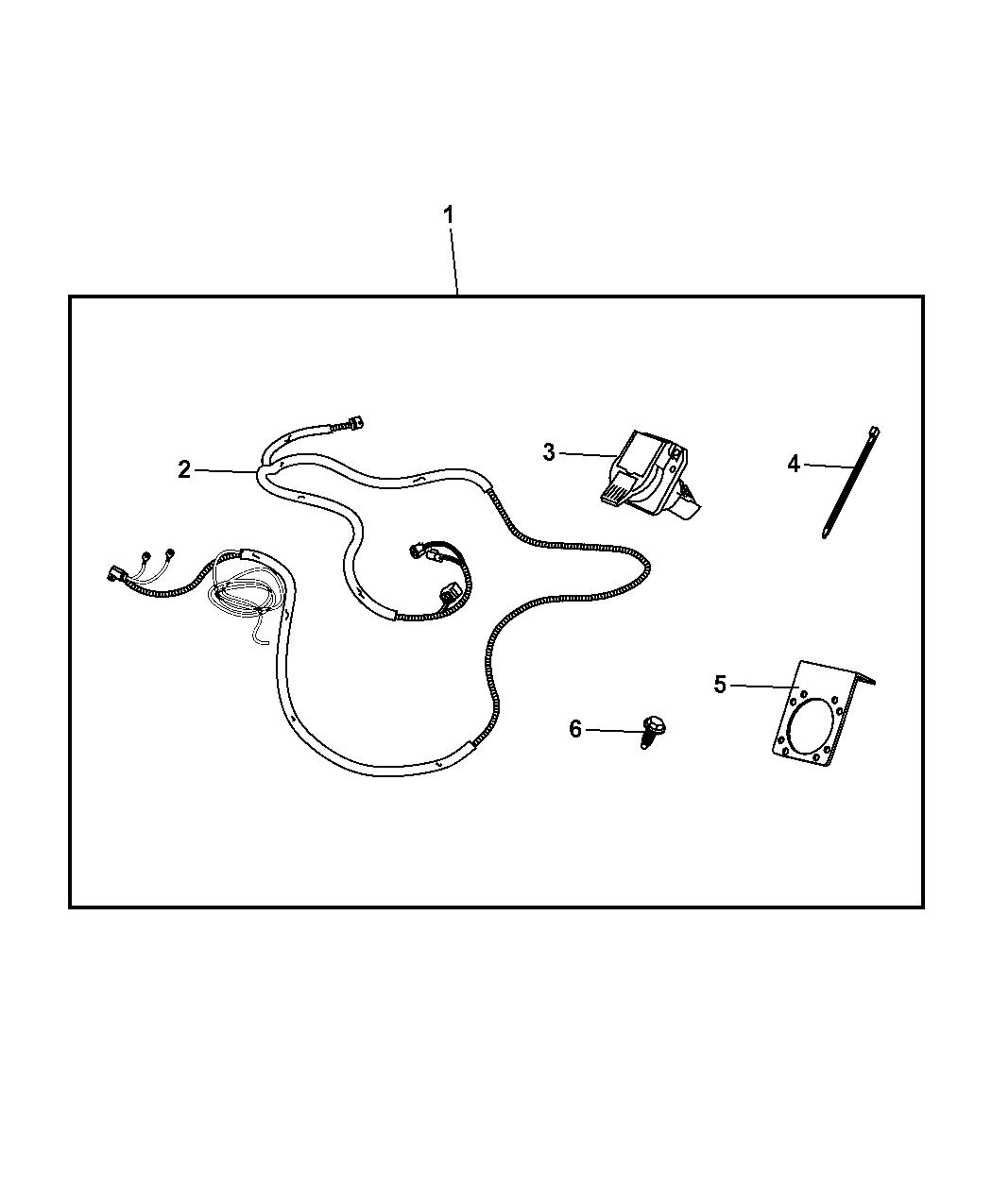 Jeep Wrangler Wiring Kit