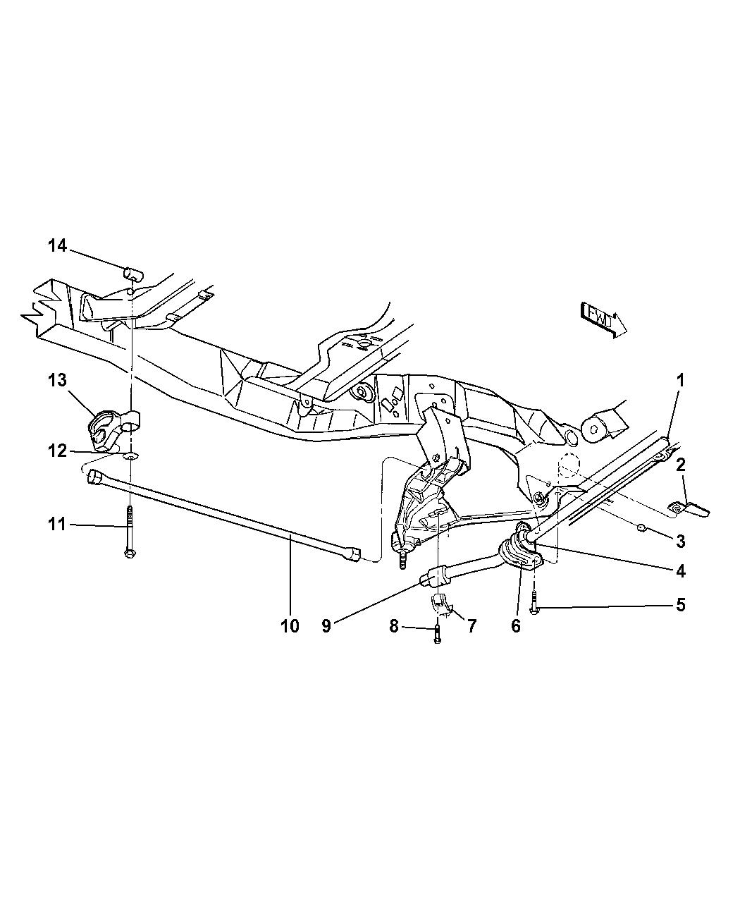Dodge Dakota Stabilizer Bar Amp Torsion Bar