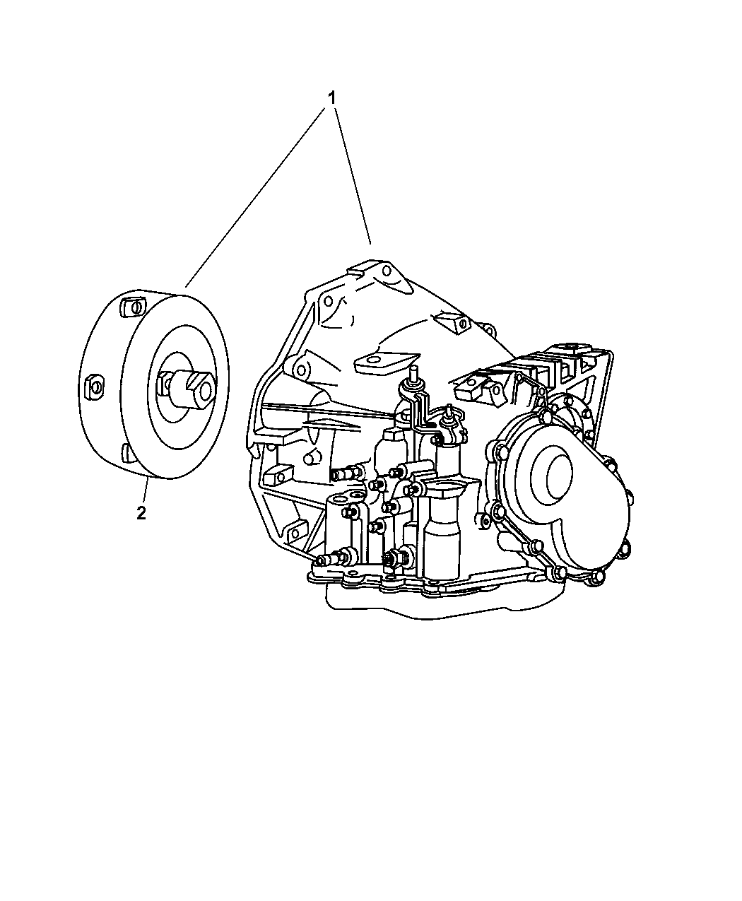 Chrysler Pacifica Transaxle Assembly