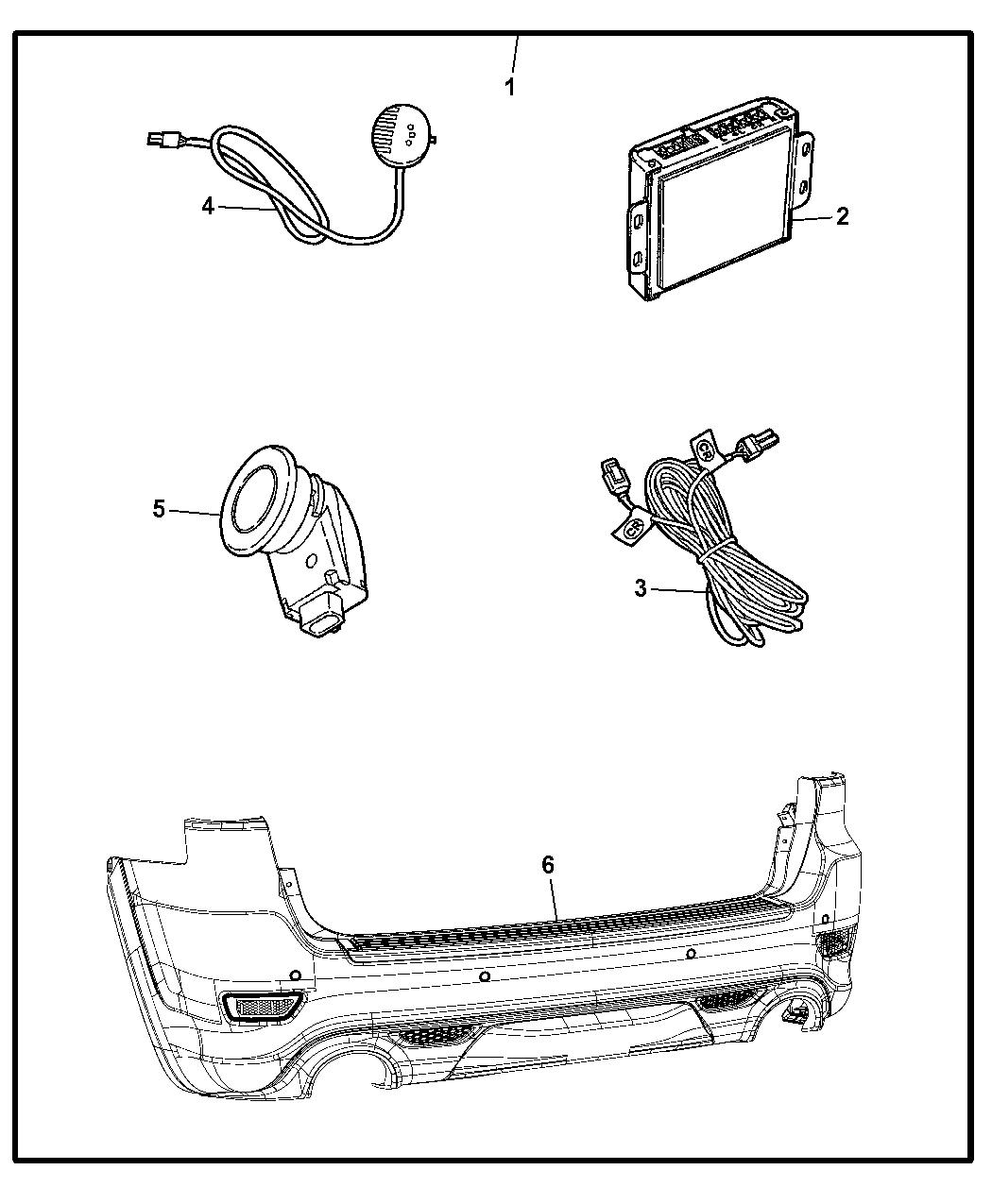 Dodge Durango Sensor Kit