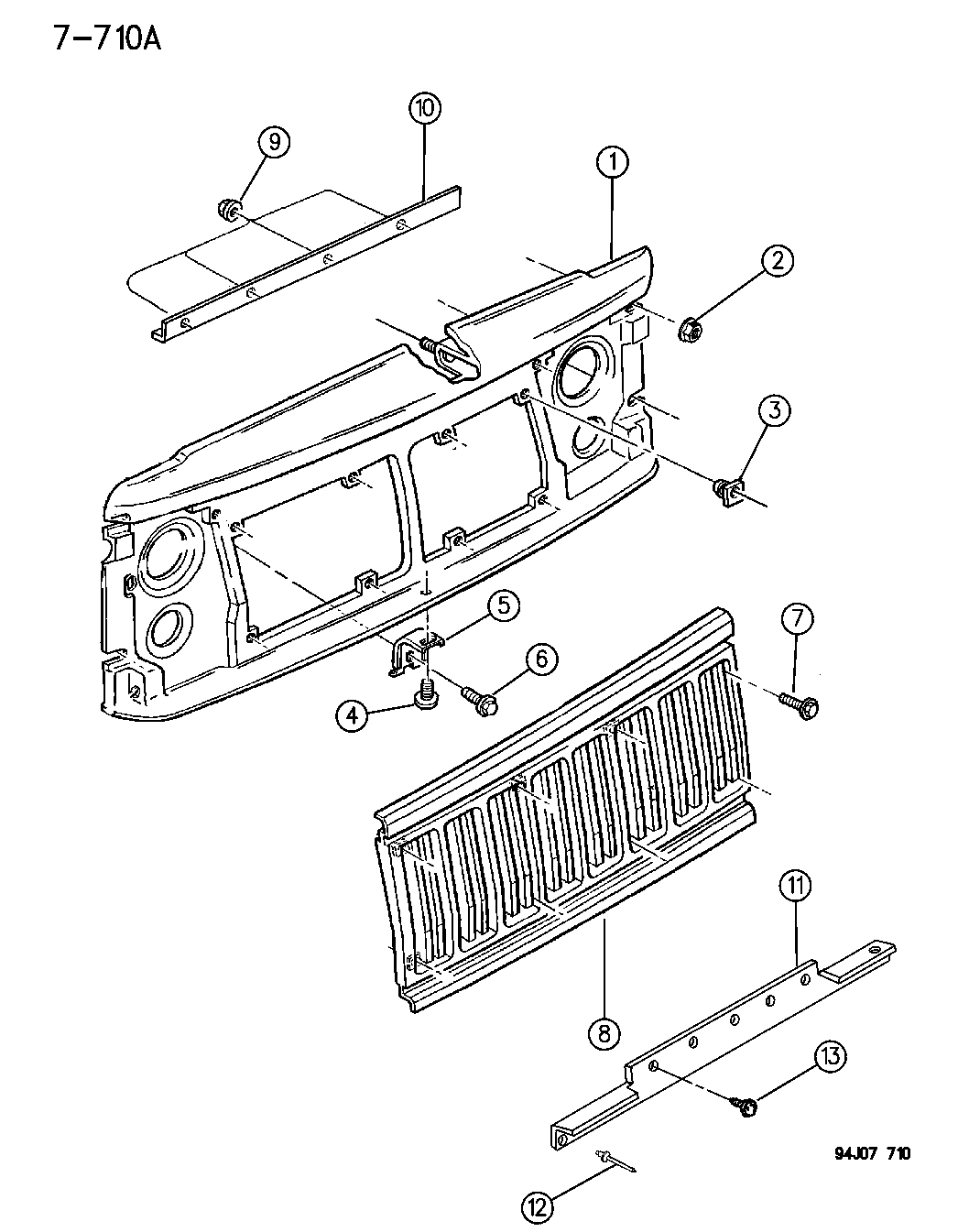 Jeep Cherokee Grille Amp Related Parts