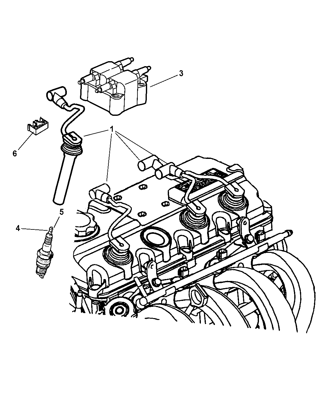 Dodge Neon Spark Plugs Ignition Coil And Wires