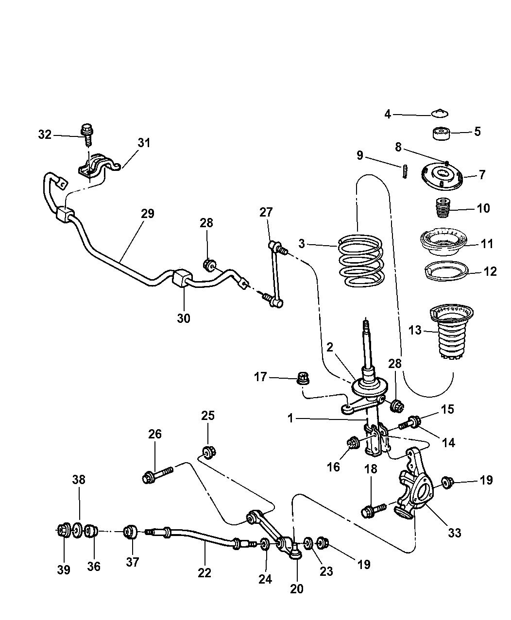 Chrysler 300m Suspension