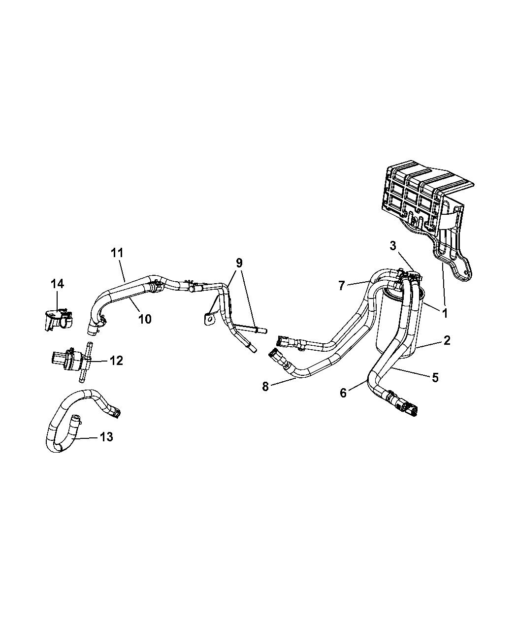 Dodge Caliber Fuel Filter