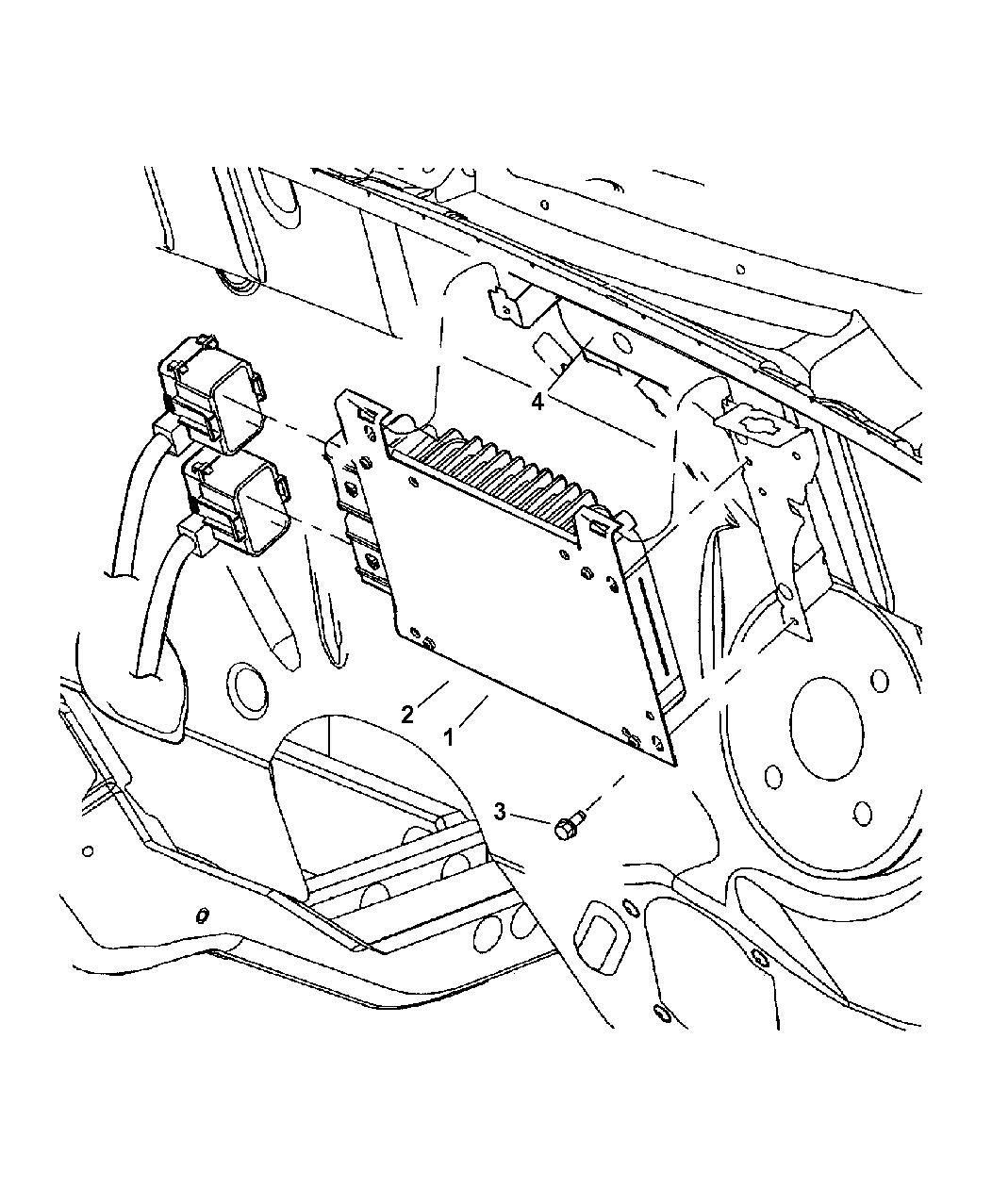 Chrysler Pt Cruiser Powertrain Control Module