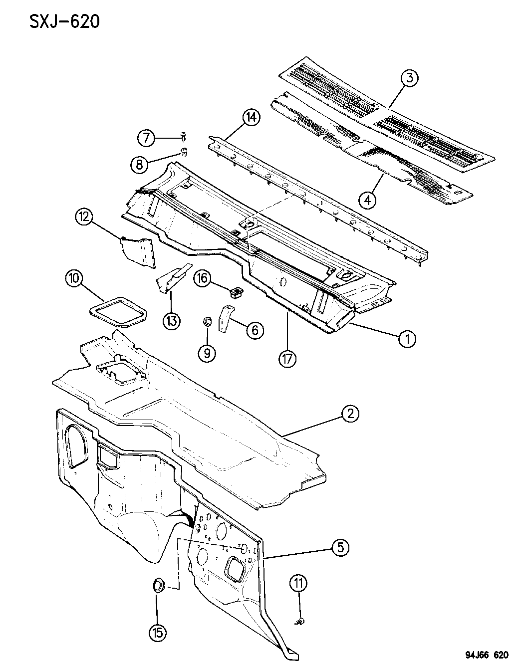Jeep Cherokee Panels
