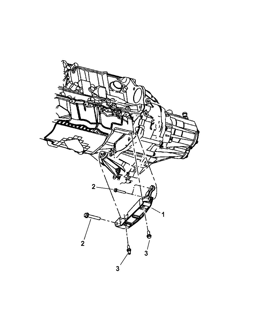 Chrysler Pt Cruiser Structural Collar Of Manual