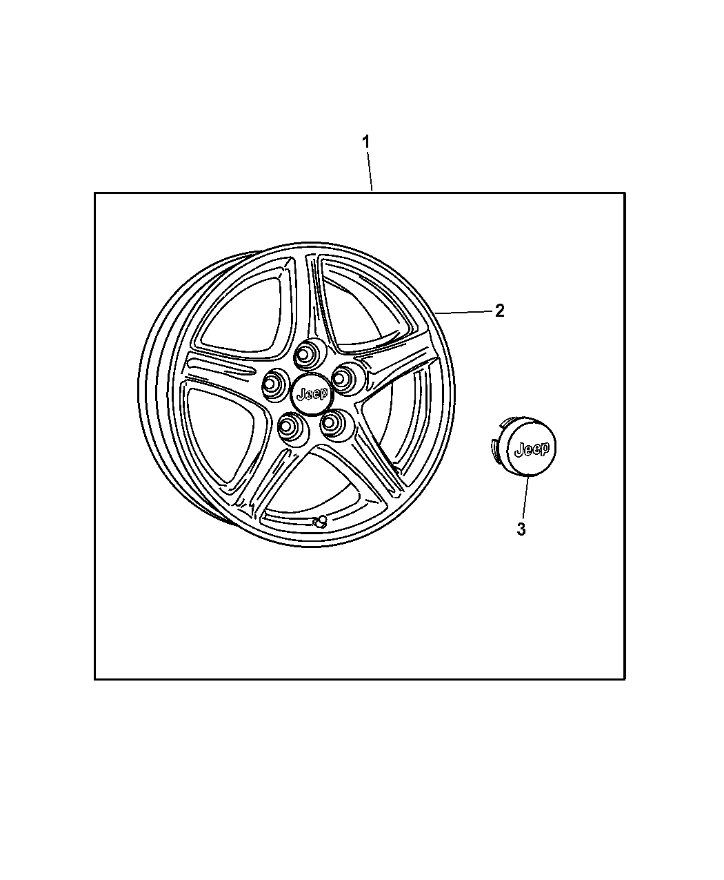 Jeep Wrangler Wheel Kit