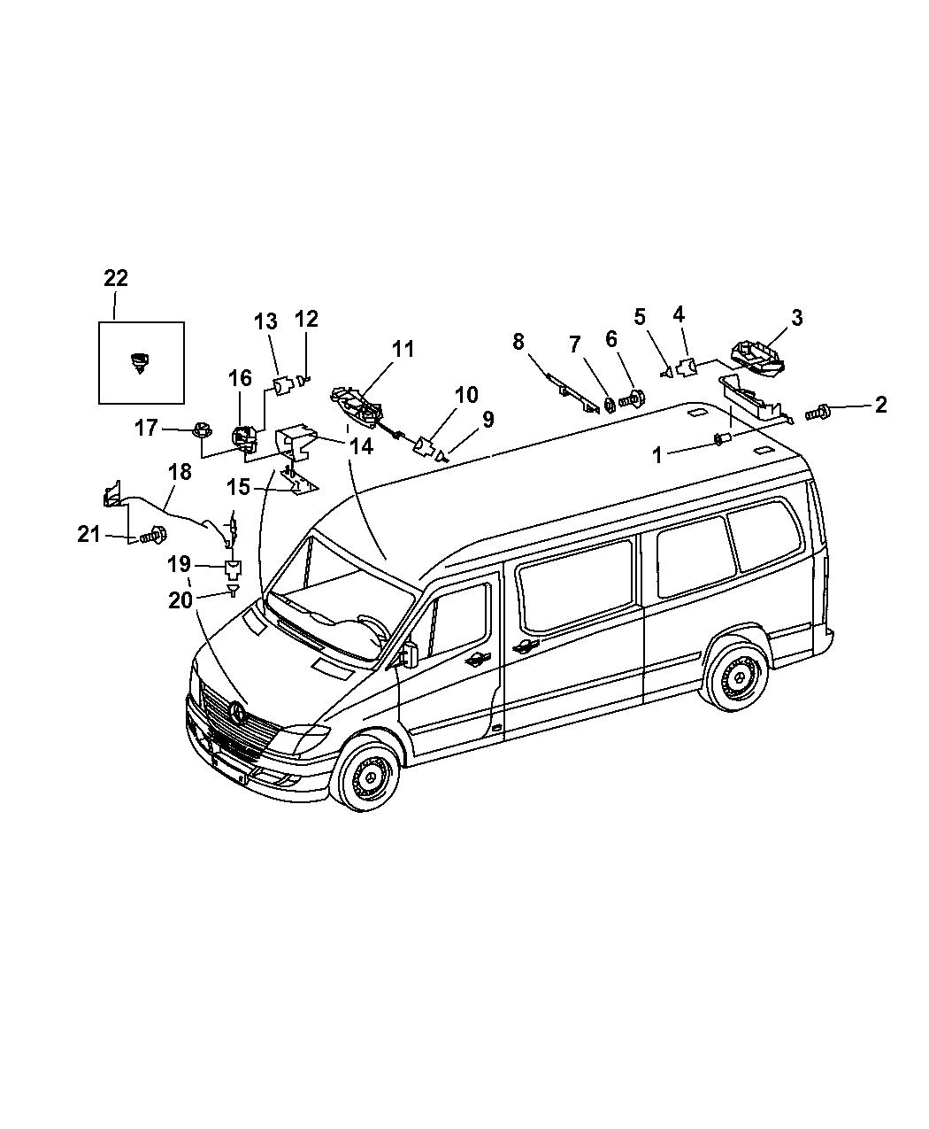 Dodge Sprinter Siren Alarm System