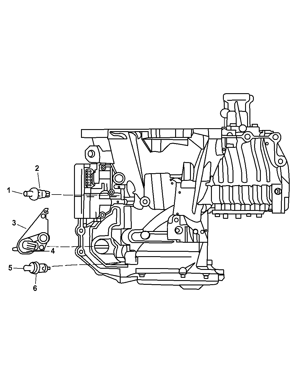 Dodge Grand Caravan Sensors