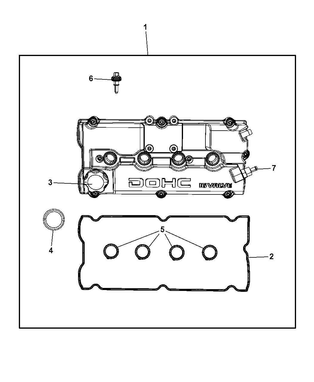 Chrysler Pt Cruiser Cylinder Head Amp Cover