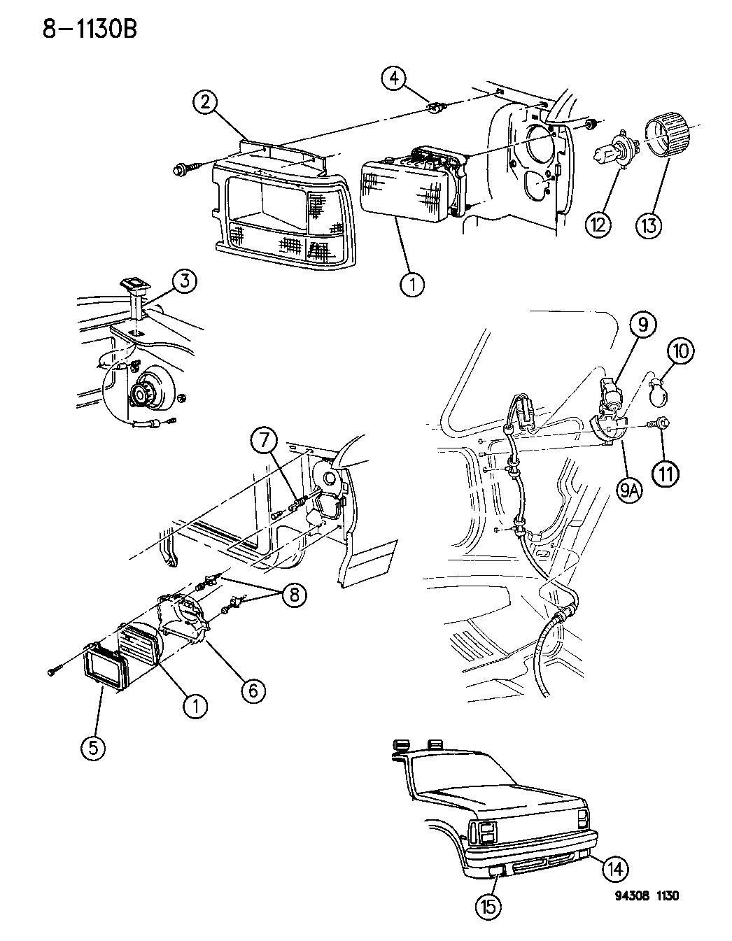 Dodge Dakota Lamps