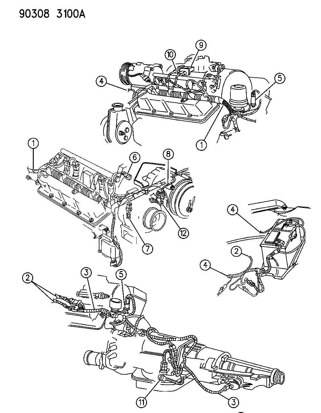 Chrysler 300 Sensor Torque Converter Coolant