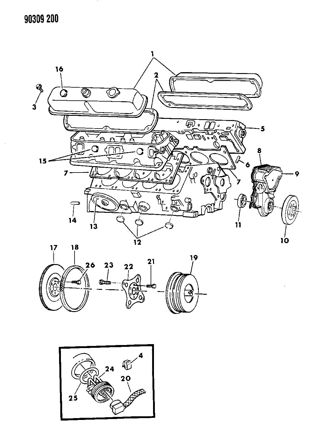 Dodge Dakota Plate Torque Converter Drive Plate