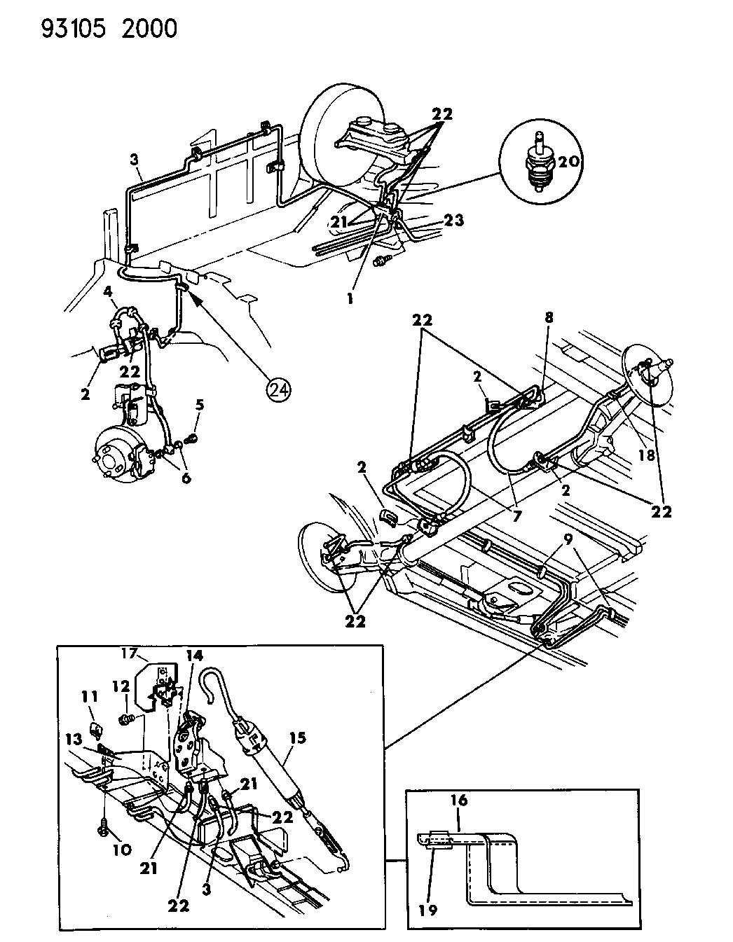 Dodge Grand Caravan Valve Height Sensing Brake