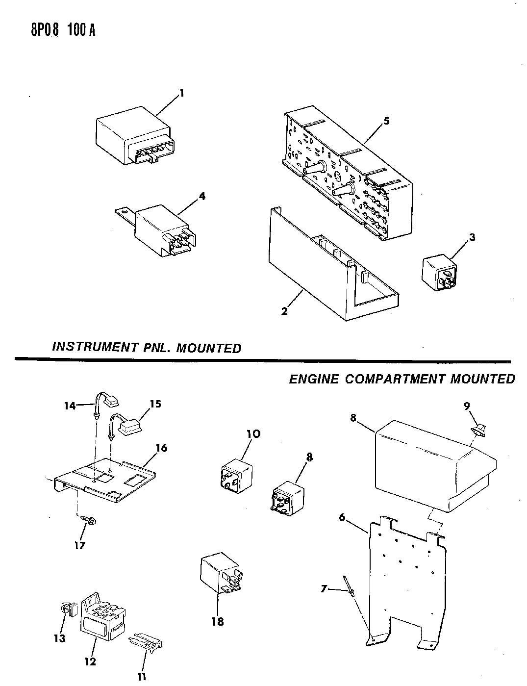 Dodge Dakota Relay Electrical Relays Engine
