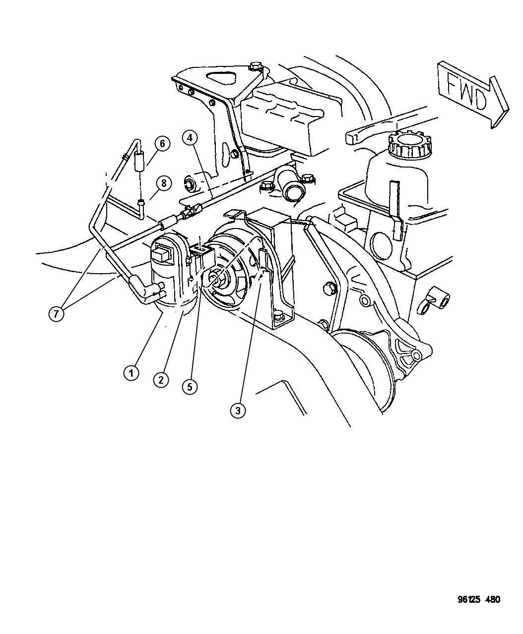 Dodge Caravan Harness Duty Cycle Purge Solenoid